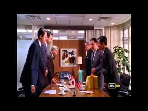 Mad Men Season 4 Episode 5 - Akira Takahashi