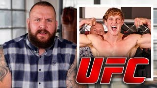 LOGAN PAUL TO FIGHT IN THE UFC