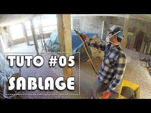 TUTORIEL #05 - Sablage