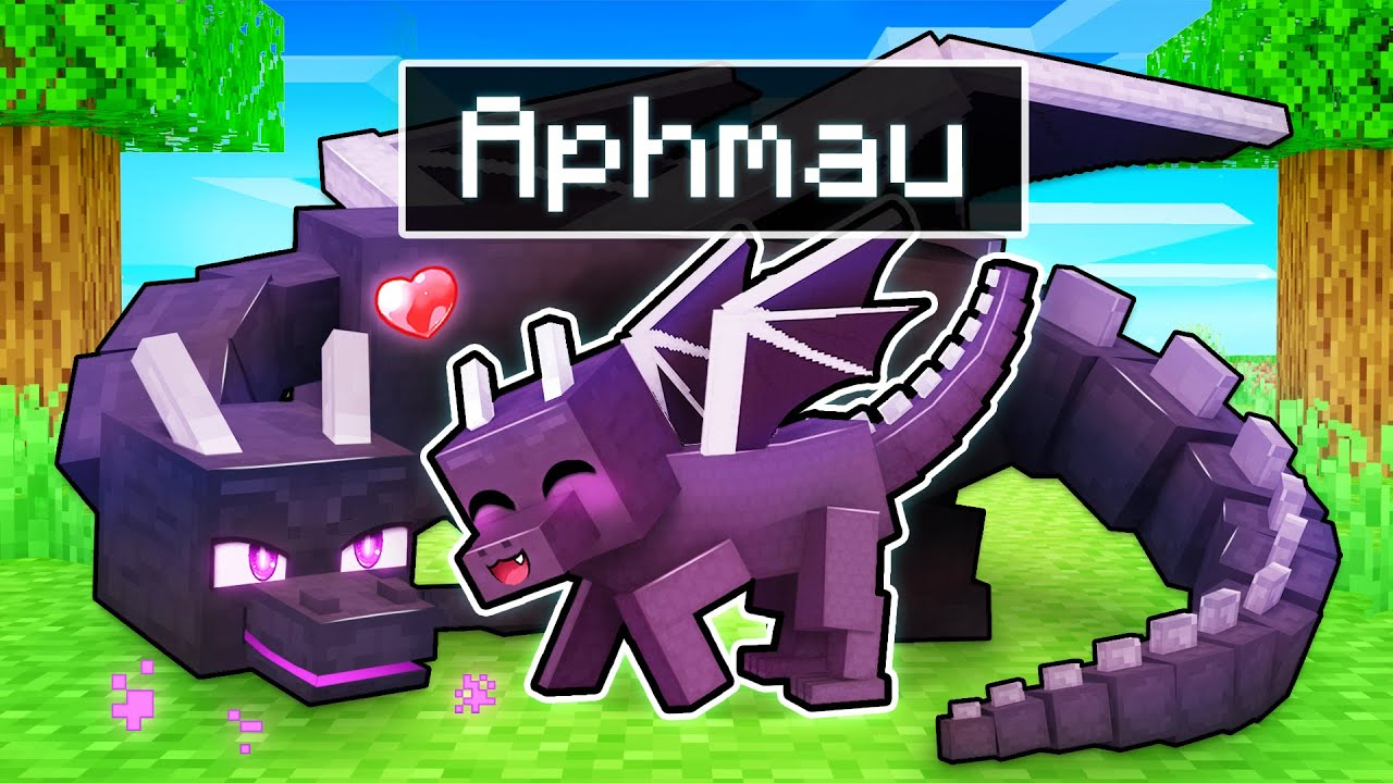 Download Playing As a LOVING DRAGON In Minecraft!