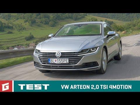 VW ARTEON TEST GARAZ.TV Raso Chv la