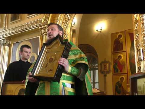 Освящение икон в Никольском храме г.Таганрога