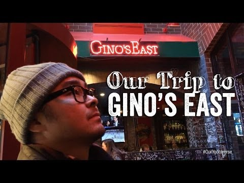 Trip to Gino's East - Restaurant Review | Our Yooniverse
