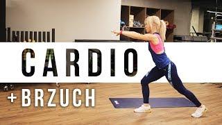 Trening CARDIO + BRZUCH   Codziennie Fit