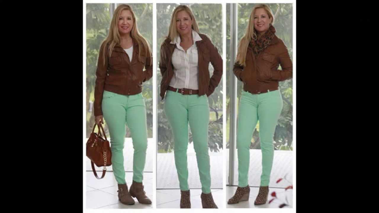 Combinando Un Pantalon Verde Green Pants