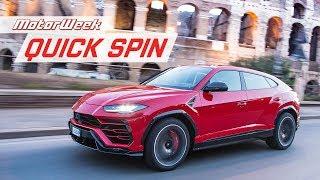 2019 Lamborghini Urus | Quick Spin