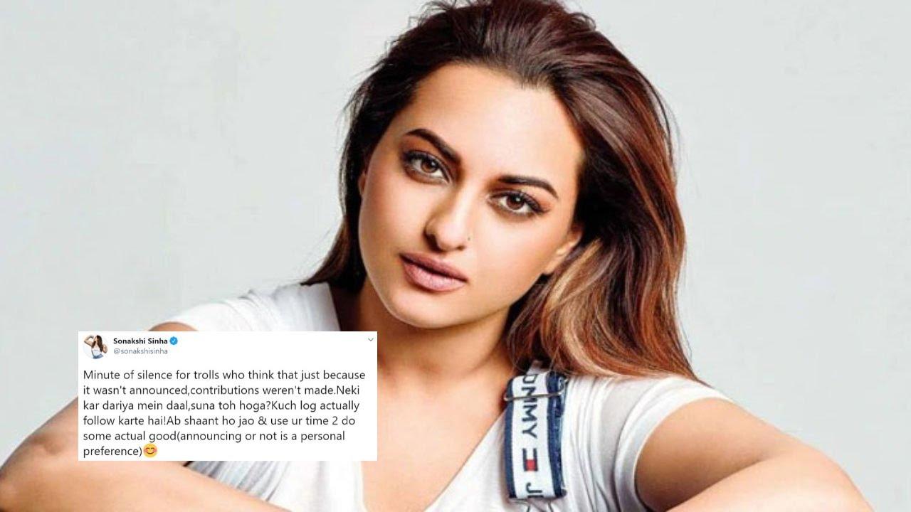 Actress Sonakshi Sinha Recent News-COVID19 Affect