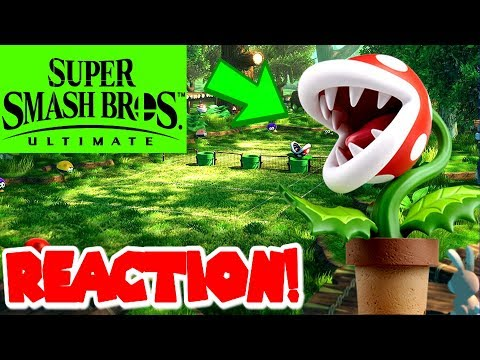 Super Smash Bros Ultimate | First Time Playing As Piranha Plant! *REACTION!* thumbnail