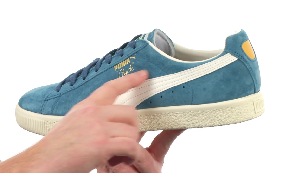 917f8f609cb PUMA Clyde Premium Core SKU 8870592 - YouTube