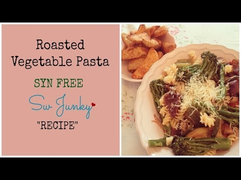 Slimming World (Syn Free) Roasted Vegetable Pasta