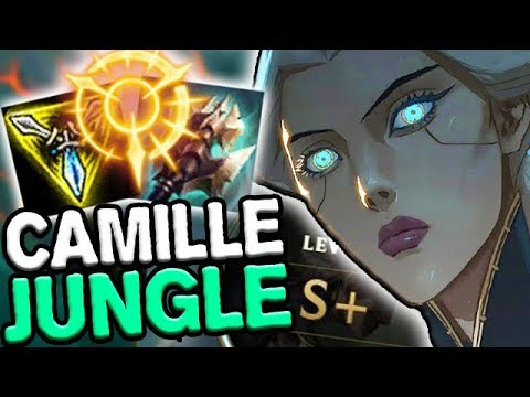 S+ CAMILLE JUNGLE GAMEPLAY GUIDE - Season 8 League of Legends