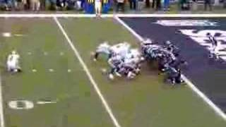 Tony Romo's Botched Hold from long snapper.