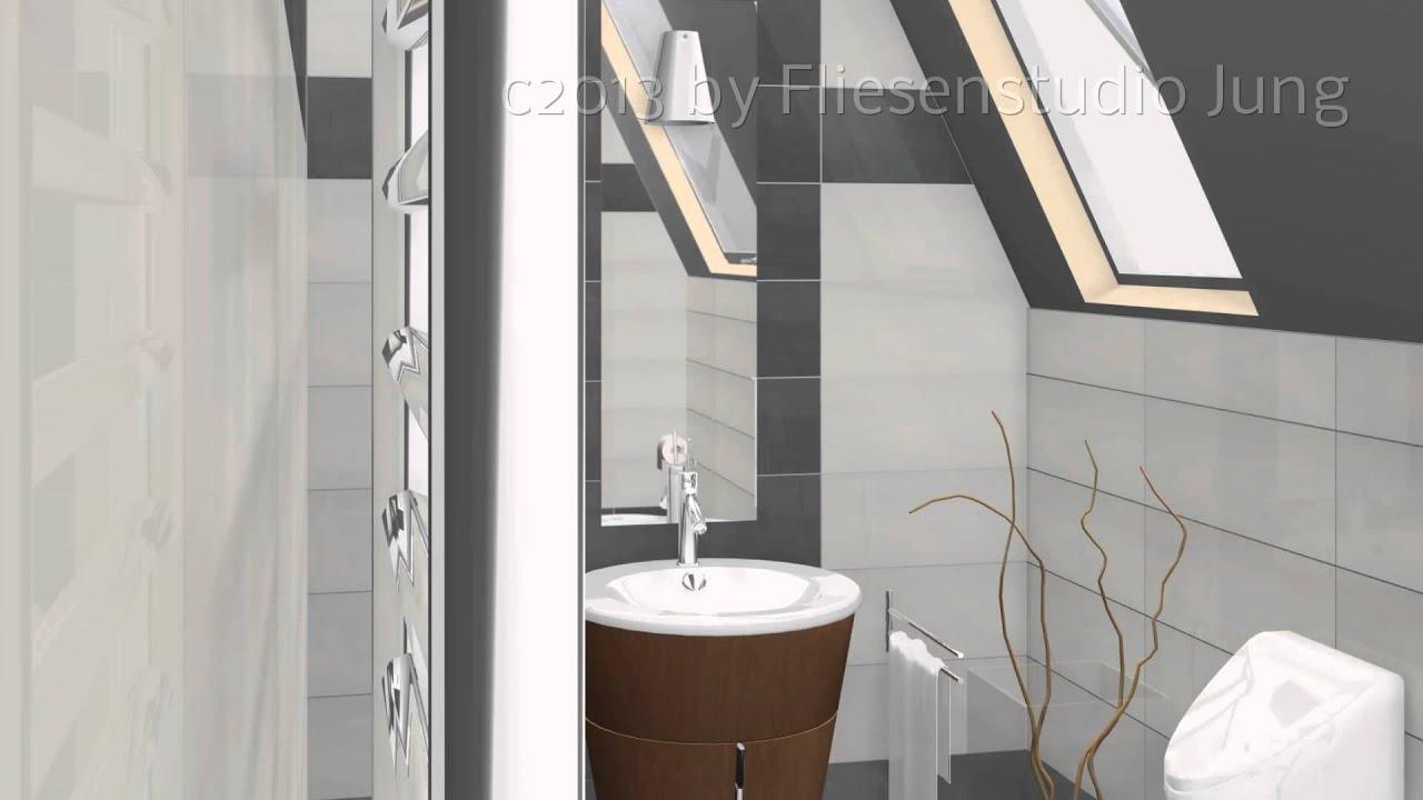 3d planung fliesen jung youtube. Black Bedroom Furniture Sets. Home Design Ideas