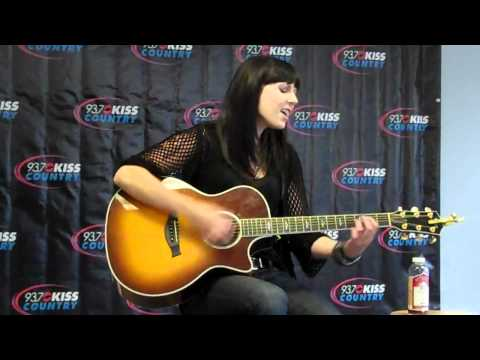 "Marlee Scott performs ""Let It Rain"" for 93.7 Kiss Country"