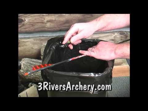 Using the Saunders Feather Stripper Fletching Tool