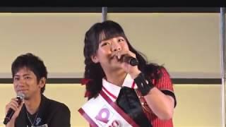2017.08.12 ピザーラアンバサダー 田所栞 ファンタシースター感謝祭2017...