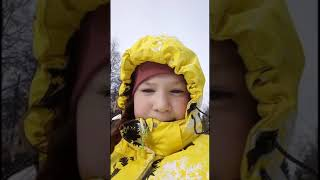 Моё путешествие в горы! Отдых/развлечения/ горы/ снег/ холод/ лёд!!!
