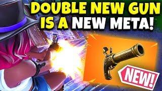 Fortnite added Double Pump back... (Fortnite New Revolver)