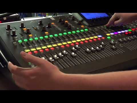 x32 Behringer sound board tutorial with Mark Ahrens