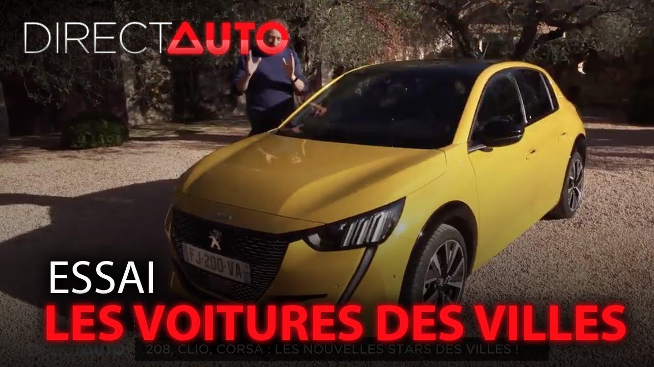 Super-test : Clio, 208, Corsa, les nouvelles stars des villes