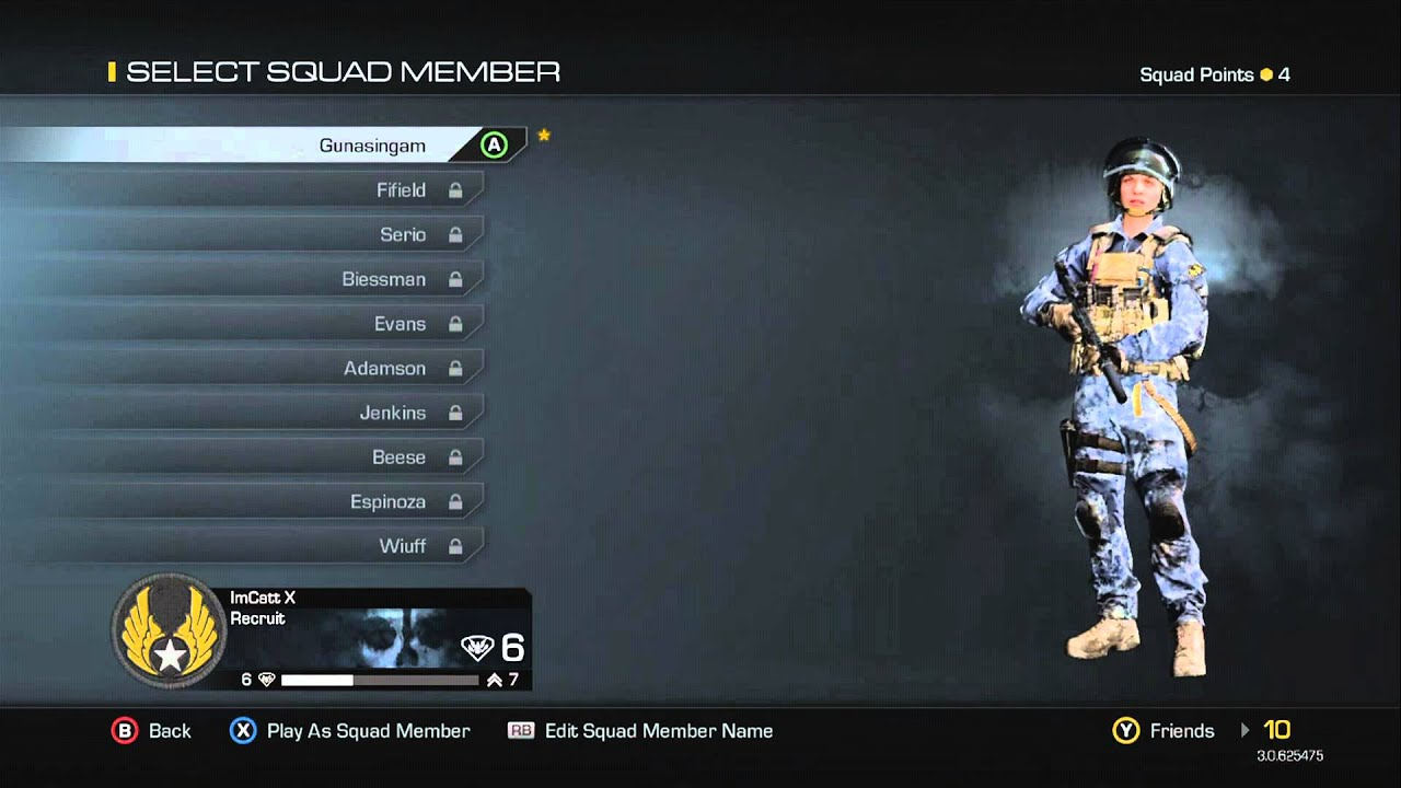 Customizing Your Character To Be Female In Cod Ghosts Youtube