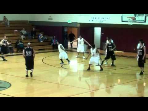 Uintah River High School : the teach vs students at basketball for the last game
