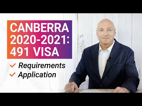 ACT (Canberra) 2020-2021: 491 Visa Nomination Requirements & Application
