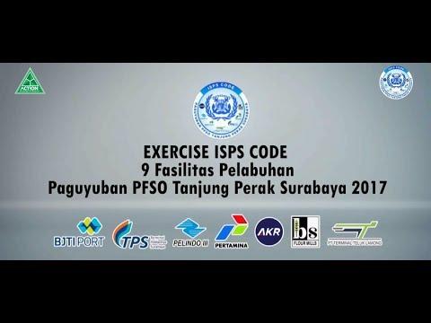 Exercise ISPS Code PFSO Tanjung Perak Surabaya 2017
