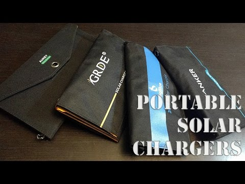 ☀️ Top Portable Solar Chargers - Anker, Big Blue, GRDE, Auker