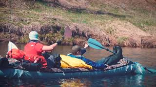 сплав по реке Угра, майские празники 2019