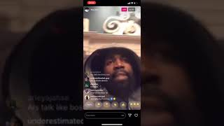 Tsu Surf and Joe Budden review Nu Jersey Twork vs Arsonal on IG live MUST WATCH!!! Funny asf 😂😂