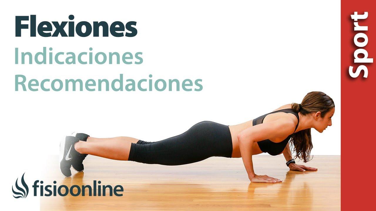 como hacer flexiones de brazos mujeres