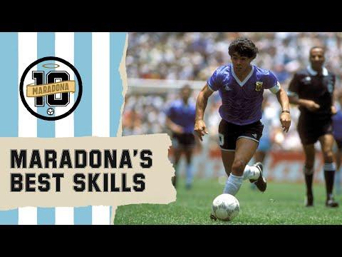 Diego Maradona's Best Skills   FIFA World Cup