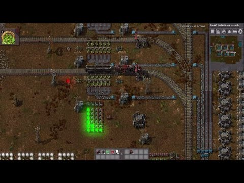 Factorio Uranium Reactor Refulling with Combinators by JackB1024