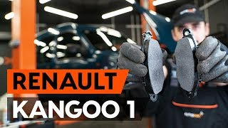 How to replace Disk pads on RENAULT KANGOO (KC0/1_) - video tutorial