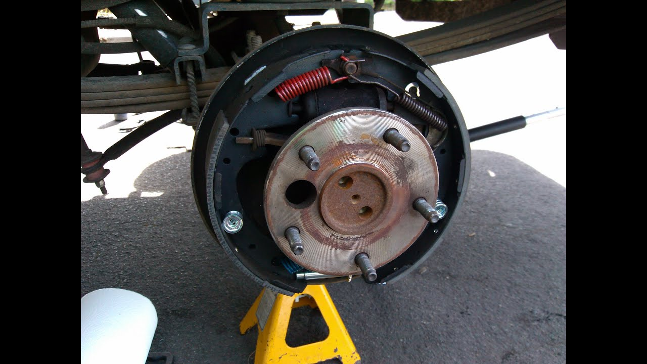 Ford F Rear Drum Brake Replacement Youtube Rh Youtube Com Ford Drum Brake Assembly Diagram  F Parking Brake Diagram