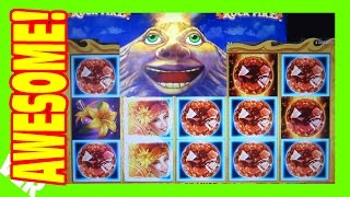 AWESOME SUPER BIG WIN - Volcanic Rock Fire - Slot Machine Bonus