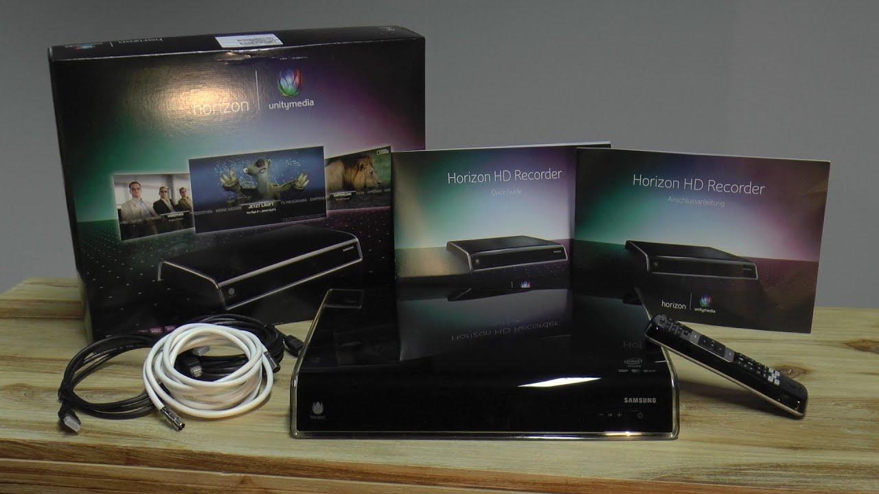 Unboxing: Unitymedia Horizon HD Kabel-Receiver Samsung (dt ...