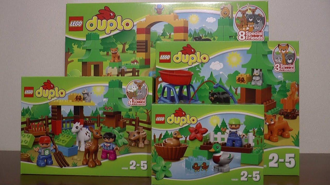 Nowości Marzec 2015 Lego Duplo Youtube