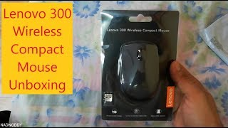 Lenovo 300 wireless compact mouse Unboxing