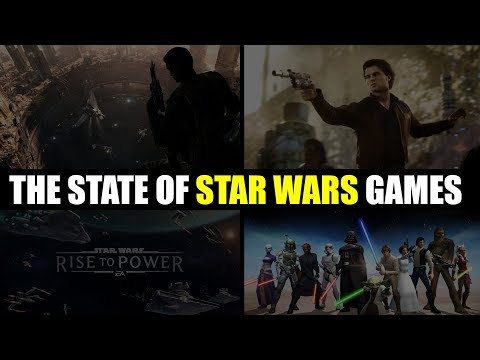 The State of Star Wars Games, my EA Gamechanger Experience, AND the Future of EckhartsLadder