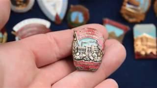 Обзор коллекции знаков СССР. Отличники соц соревнования. Часть 2