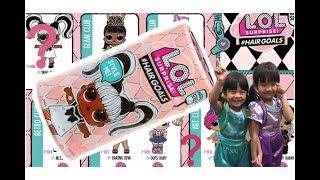 美國最新 LOL 驚喜寶貝髮膠罐 LOL surprise #hairgoals 有真正的頭髮 在髮膠罐中有15個驚喜 膠囊變成沙龍椅陳列櫃娃娃架和小手提包