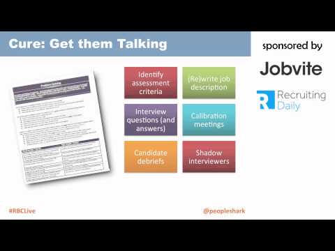 Webinar: How To Train Your Hiring Manager - Sponsored by Jobvite