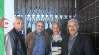 اللقاء الذي جمع وزير التعليم العالي الطاهر حجار مع مناضلي الآفلان بمكتبة جاك بارك فرندة تيارت