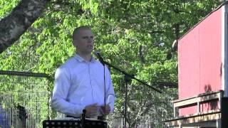 Anders Ärleskogs tal nationaldagsfirande Kalmar