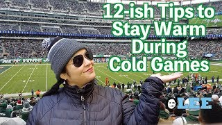12 Secret Tips to Stay Warm at Football Games