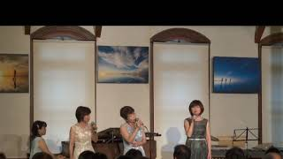 フェリーチェFelice Vocal ensemble unit  ♬Deep River♬ Pivoの泉コンサート2018 6 30