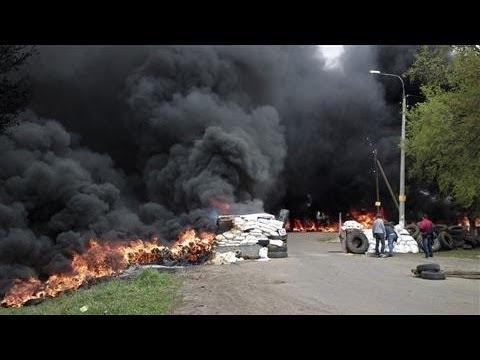 Ukraine Changes Course in Slovyansk Operation
