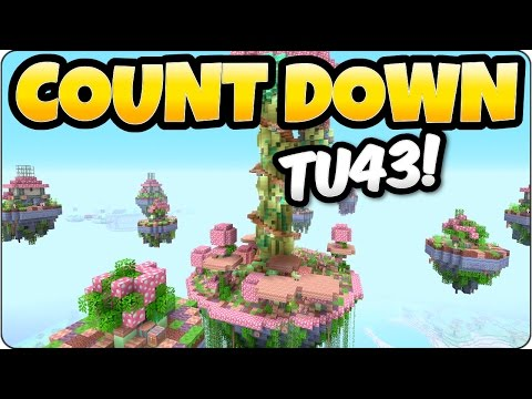 Minecraft TU43 Count Down Hype - PS3, PS4, Xbox One, Xbox 360 & Wii U Edition